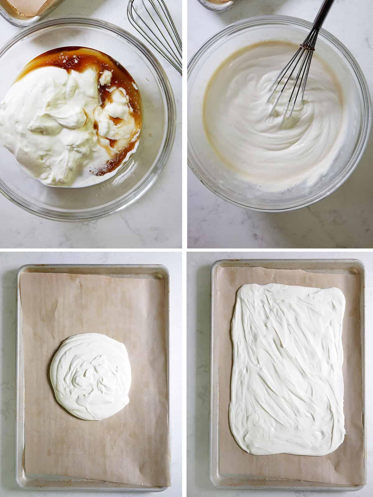 Frozen yogurt bark ingredients