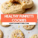 Healthy funfetti cookies.