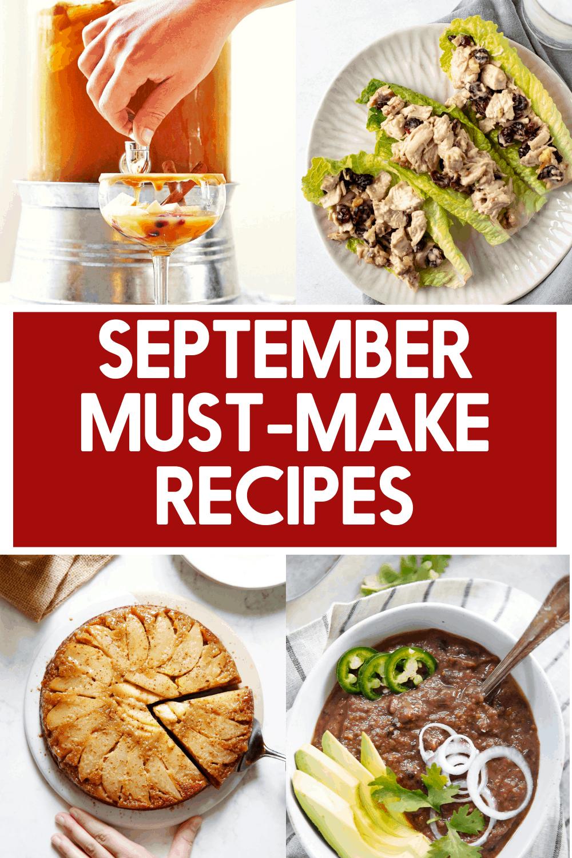 September recipe ideas