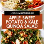 Sweet Potato, Apple, Kale Quinoa Salad